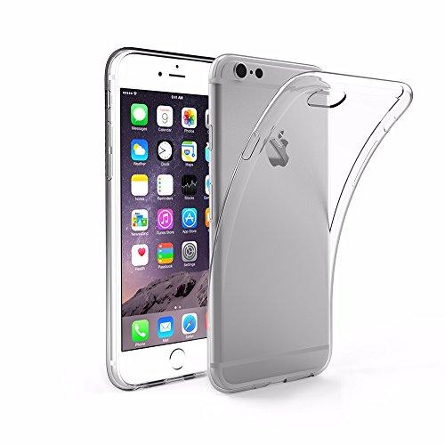 easyacc iphone 6s plus h lle case silikon transparent handyh lle schutzh lle durchsichtig tpu. Black Bedroom Furniture Sets. Home Design Ideas