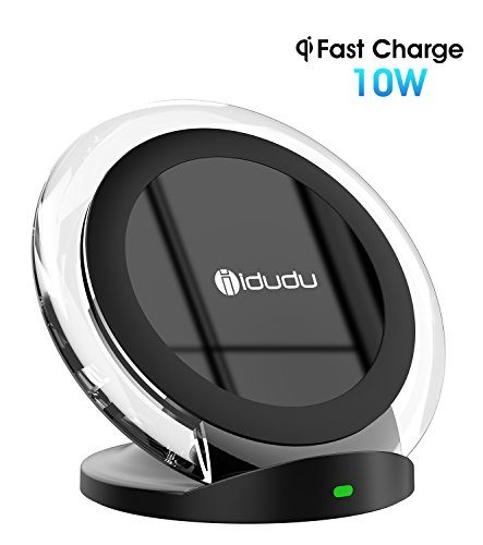 10w fast wireless charger schnellladestation kabellose. Black Bedroom Furniture Sets. Home Design Ideas