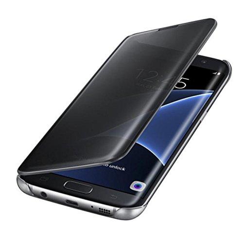 Culater für Samsung Galaxy S7/ S7 Edge, Luxus Flip Spiegel ...