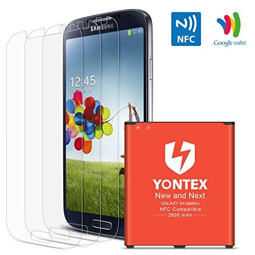 Yontex Akku Für Samsung Galaxy S4 Nfc Google Wallet Ersatzakku