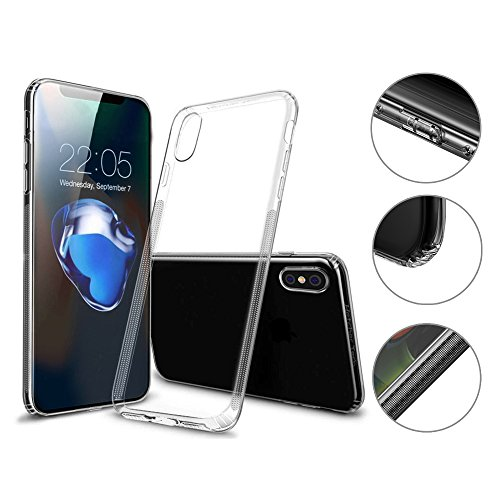 premium schutzh lle iphone x transparent durchsichtig. Black Bedroom Furniture Sets. Home Design Ideas