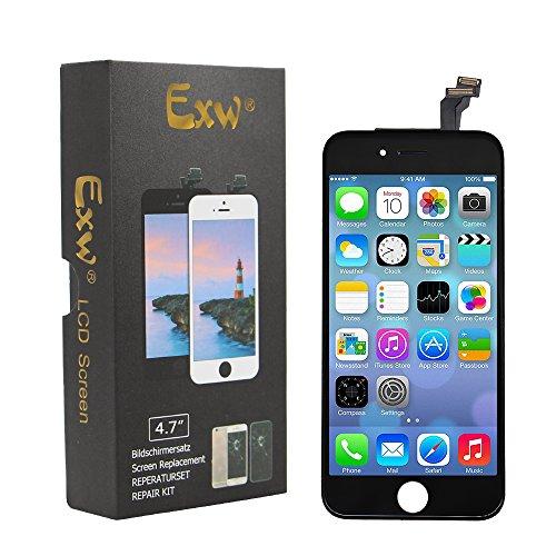 exw lcd bildschirm f r apple iphone 6 4 7 zoll ersatz mit praktischem werkzeug touchsreen