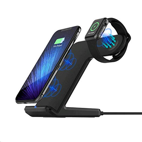 sararoom apple watch st nder 2 in 1 qi wireless charger. Black Bedroom Furniture Sets. Home Design Ideas