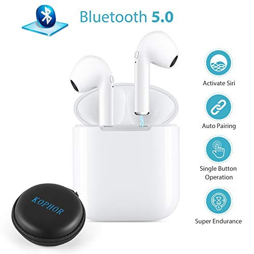 bluetooth kopfh rer wireless headset bluetooth 5 0. Black Bedroom Furniture Sets. Home Design Ideas