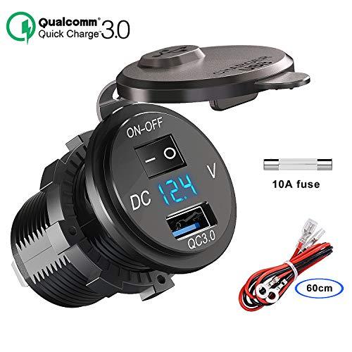 QC 3.0 USB Steckdose KFZ 12V/24V, Quick Charge 3.0 Auto ...